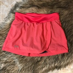 UNDER ARMOUR | Golf Skort Size Small Pink